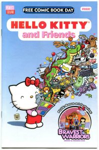 HELLO KITTY and FRIENDS #1, FCBD, NM, Bravest Warriors, Perfect, 2014, unread