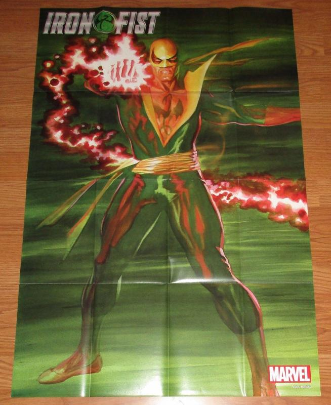 Iron Fist Folded Promo Poster - Marvel 2017 (24 x 36) - New!