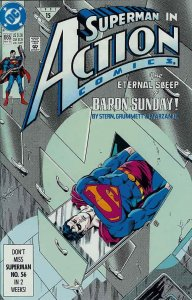 Action Comics #665 VF/NM; DC | save on shipping - details inside