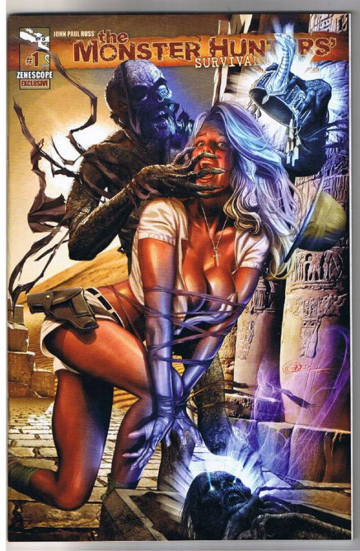MONSTER HUNTERS' SURVIVAL GUIDE #1, NM+, LTD, Greg Horn, Grimm Fairy Tales, 2010