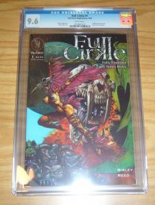 Full Cirkle #1 CGC 9.6 simon bisley art - simon reed - full circle 1st print