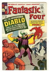 Fantastic Four 30   1st Diablo