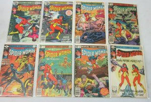 Spider-Woman from:#9-48 27 difference avg 6.0 FN (1978-83)