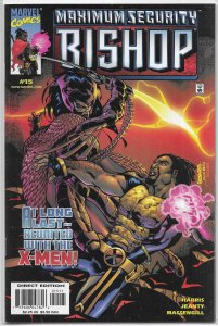 Bishop: The Last X-Man   #15 FN/VF (Maximum Security) Joseph Harris/Jeanty