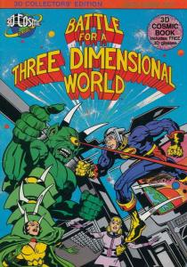 Battle for a Three Dimensional World #1 VF/NM; 3D Cosmic | save on shipping - de
