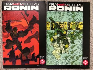 RONIN - TWO (2) ISSUE LOT  #1, and #2 By Frank Miller (SIN CITY)