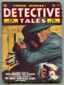 Detective Tales Pulp December 1947- Eyes Behind the Door
