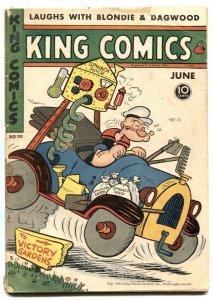 King Comics #110 1945-Popeye- Flash Gordon VG-