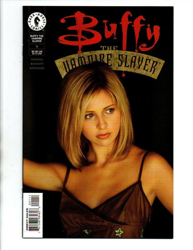 Buffy the Vampire Slayer #1 2nd print Photo Cover - Vampire - 1999 - NM