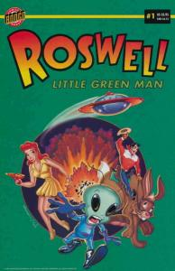 Roswell: Little Green Man #1 FN; Bongo | save on shipping - details inside