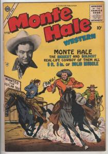 Monte Hale Western #84 (May-53) VF/NM High-Grade Monte Hale