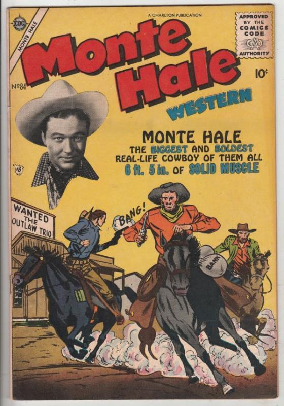 Monte Hale Western #84 (May-53) VF/NM High-Grade Monte Hale