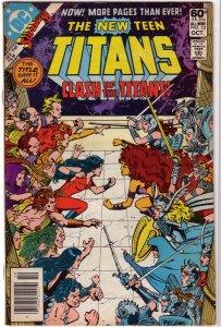 New Teen Titans (vol. 1, 1980) #12 GD Wolfman/Perez, Cyborg, Wonder Girl