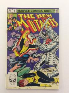 NEW MUTANTS #6 - Signed by Artist Bob McLeod w/COA