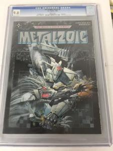 DC Graphic Novel 6 Cgc 9.8 Metalzoic Very Hard To Find Perfect Condition