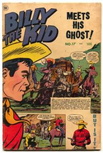 Billy the Kid #17 1952- Golden Age Western comic VG