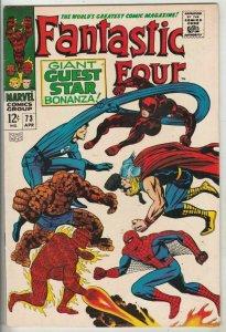 Fantastic Four # 73 Strict VF/NM High-Grade Spider-Man Darevil Thor Jack Kirby