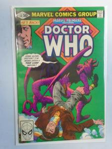 Marvel Premiere #58 featuring Doctor Who 7.0 FN VF (1981)