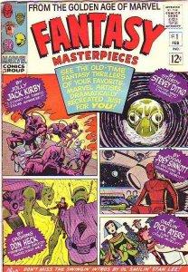 Fantasy Masterpieces #1 (Feb-66) FN Mid-Grade