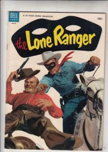 Lone Ranger, The #69 (Aug-53) VF+ High-Grade The Lone Ranger, Tonto, Silver