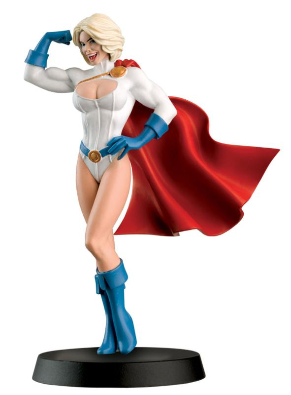 DC Superhero Collection #16 Powergirl Figure w/Booklet (Eaglemoss, 2016) New!