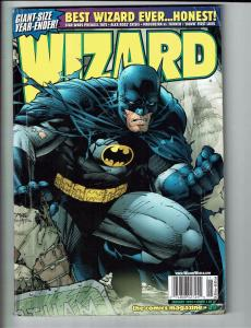 Wizard Magazine # 89 Comic Book Batman Jim Lee Cover January 1999 J96