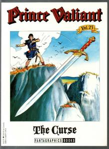 Prince Valiant #25 1995-Fantagraphics-color reprint-Hal Foster-The Curse-VF