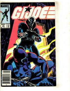 12 GI Joe Comics Marvel # 31 53 58 43 55 56 57 59 60 61 62 63 Snake Eyes DS1