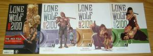 Lone Wolf 2100 #1-11 VF/NM complete series + red file one-shot - dark horse set