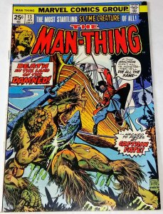 Man-Thing #13 (VF) 1975 Bronze Age Marvel Horror ID34L