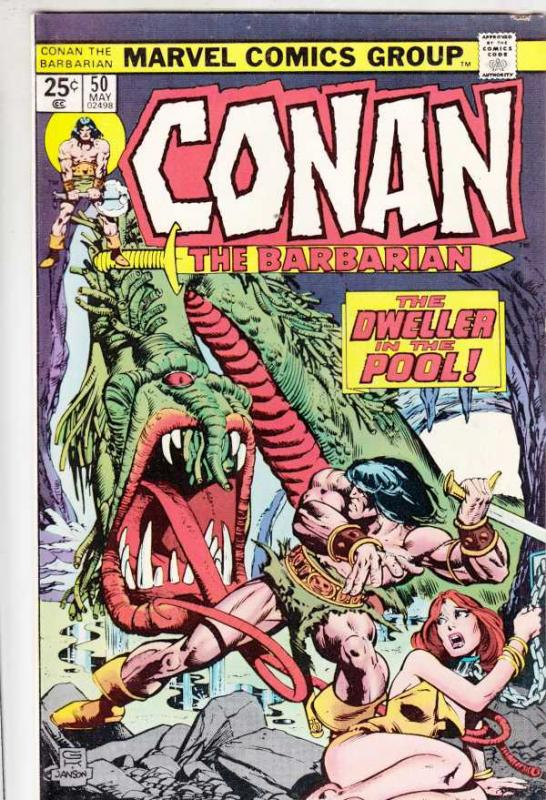 Conan the Barbarian #50 (May-75) VF High-Grade Conan the Barbarian