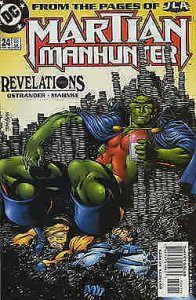 Martian Manhunter #24 VG; DC | low grade comic - save on shipping - details insi