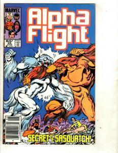 10 Alpha Flight Marvel Comics 23 66 74 96 116 117 128 129 130 Flashback 1 EK4