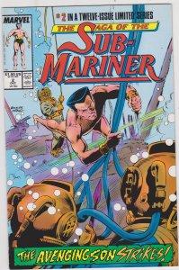 Saga of the Sub-Mariner #2