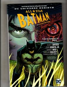 All Star Batman Vol 1 Enemy DC Comics HARDCOVER Graphic Novel SEALED Book J347