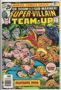 Super-Villian Team-Up #6 (Jun-76) NM- High-Grade Namor the Sub-Mariner, Docto...
