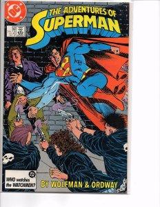 Dc Comics Adventures of Superman #433 and 467 Batman