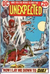 UNEXPECTED (TALES OF) 142 F+    December 1972 COMICS BOOK