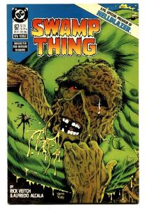 SWAMP THING #67 comic book-1987-HIGH GRADE HELLBLAZER 6 pg preview-nm
