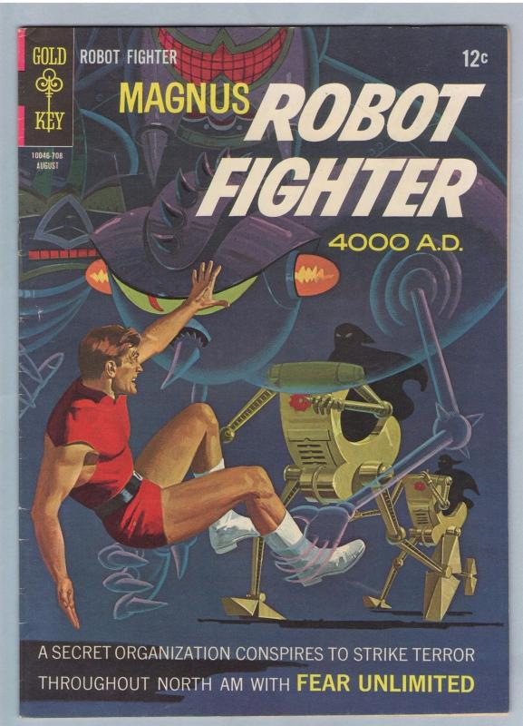 Magnus Robot Fighter 19 Aug 1967 VF (8.0)