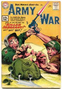 Our Army At War #114 1961-DC WAR COMIC-Sgt Rock Joe Kubert VG
