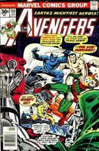 AVENGERS #155 (NG) stock photo