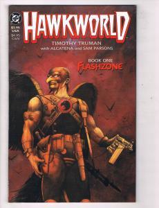 Hawkworld #1 VF TPB DC Comics Book One Flashzone Comic Book Truman JLA 1989 DE46