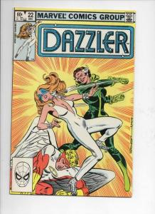 DAZZLER #22, VF/NM, Rogue, Angel, 1981 1982, more Marvel in store
