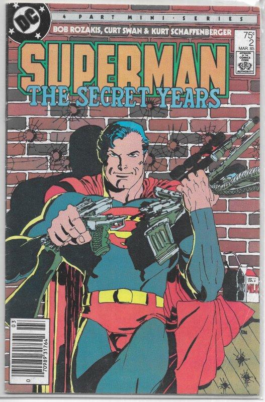 Superman  : Secret Years   #2 of 4 VG Frank Miller cover