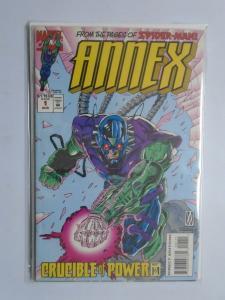 Annex (1994) #1-4 Set - 8.0 VF - 1994