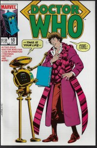 Doctor Who #10 (Marvel, 1985) NM