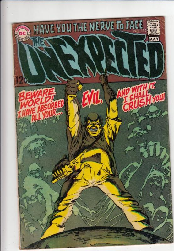 Unexpected, The #112 (May-69) VG Affordable-Grade Johnny Peril