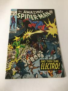 Amazing Spider-Man 82 Fn/Vf Fine Very Fine 7.0 Marvel