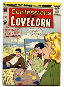 Confessions Of The Lovelorn #89 1958  Female Artist cover-comic book